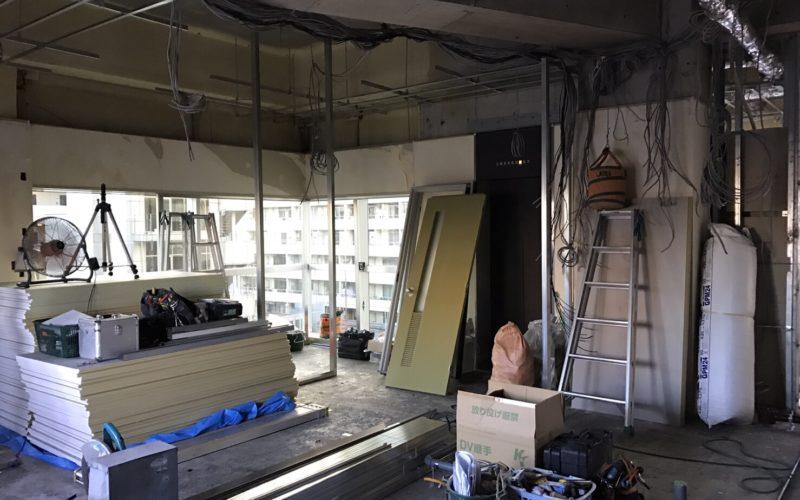 間仕切・天井の工事