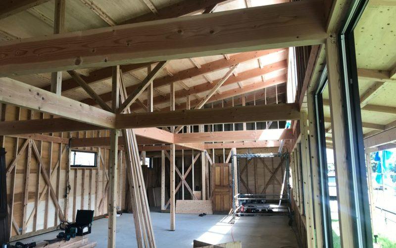 木工事と外壁工事