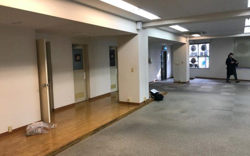 薬院駅そばのオフィス改装工事