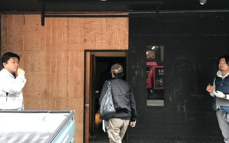 博多駅前の飲食店 改装工事